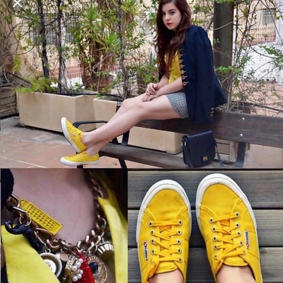 Sunflower Yellow Superga Classics